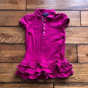 Ralph Lauren pink dress size 3/3t